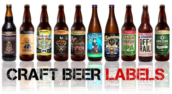 beer label marketing